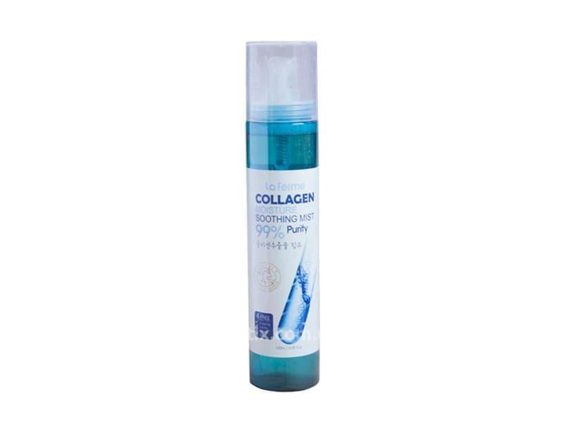 Мист увлажняющий с коллагеном (FarmStay La Ferme Moisture Soothing Collagen Mist)