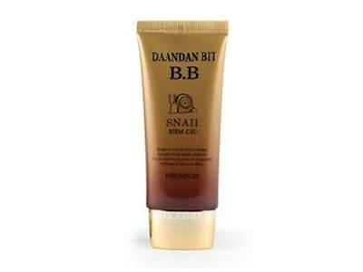 Крем BB з муцином равлика та стовбуровими клітинами (Daandan Bit Premium Snail Stem Cell BB Cream)