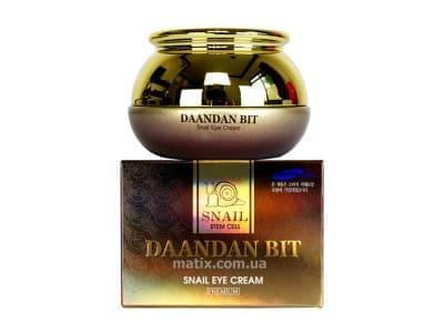 Крем для шкіри навколо очей з екстрактом муцину (Daandan Bit Snail Eye Cream)