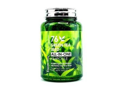 Сироватка ампульна з зеленим чаєм (FarmStay 76 Green Tea Seed All-In-One Ampoule)