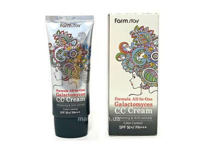 Крем CC багатофункціональний (FarmStay Formula All-In-One Galactomyces CC Cream SPF50+ PA+++)