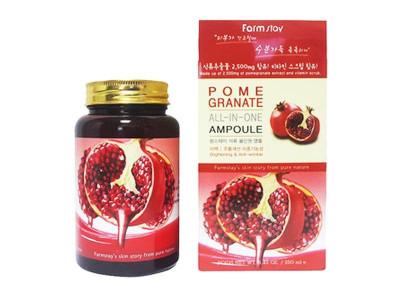 Сироватка ампульна з екстрактом гранату (FarmStay Pomegranate All-In-One Ampoule)