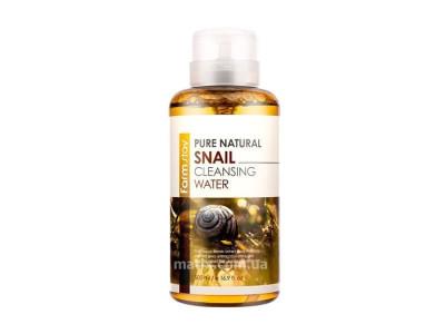 Вода очищаюча з екстрактом равлика (FarmStay Pure Natural Cleansing Water Snail)