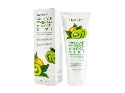 Пілінг-скатка ківі (FarmStay All In One Whitening Peeling Gel Cream Kiwi)