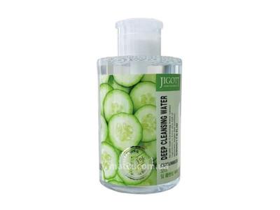 Вода очищаюча з екстрактом огірка (Jigott Cucumber Deep Cleansing Water)