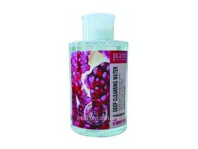 Вода очищаюча з екстрактом гранату (Jigott Pomegranate Deep Cleansing Water)