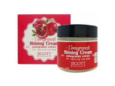 Крем гранатовий для яскравості шкіри (Jigott Pomegranate Shining Cream)