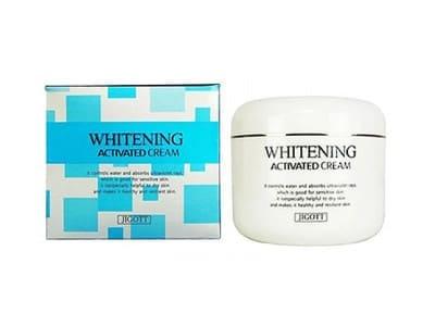 Крем відбілюючий для обличчя (Jigott Whitening Activated Cream)