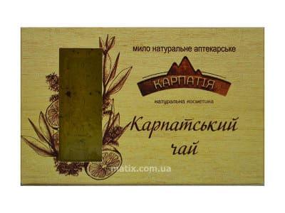 Мило натуральне аптекарське Карпатський чай