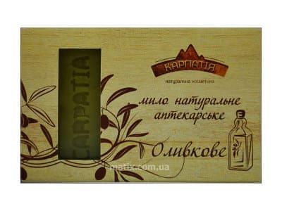 Мило натуральне аптекарське Оливкове