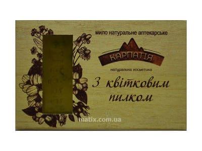 Мило натуральне аптекарське З квітковим пилком