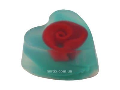 Мило натуральне Троянда ексклюзив серце