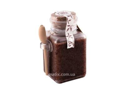Сольовий масляний скраб для тіла Горіховий