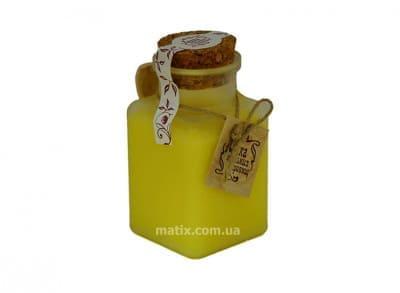 Сольовий масляний скраб для тіла Медовий