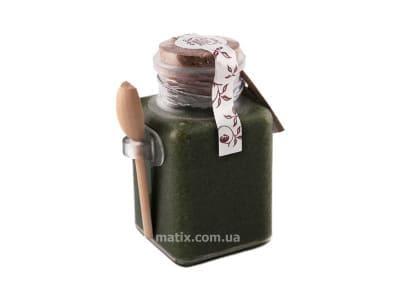 Сольовий масляний скраб для тіла Спіруліновий