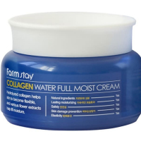 Крем увлажняющий с коллагеном (FarmStay Collagen Water Full Moist Cream)