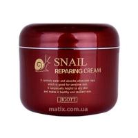 Антивозрастной восстанавливающий крем с муцином (Jigott Snail Reparing Cream)